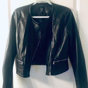NWOT Zara Leather Jacket